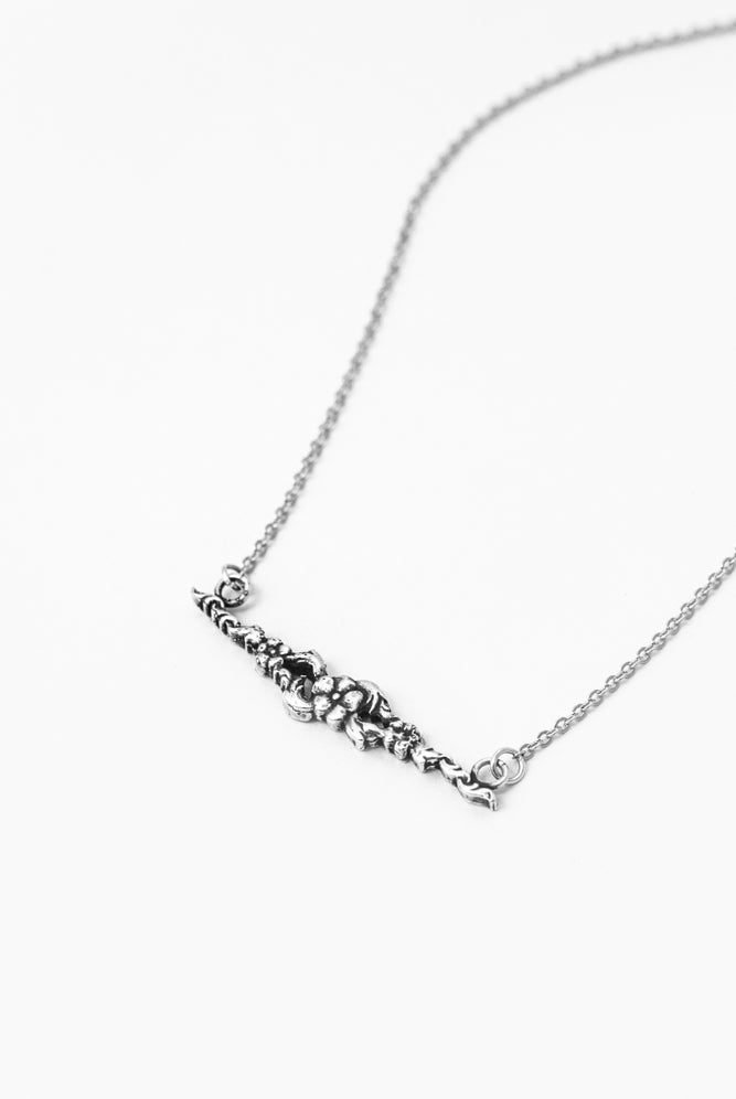 Chloe Bar Necklace - Silver Spoon Jewelry