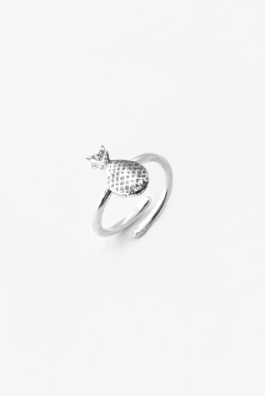 Pineapple Sterling Ring - Silver Spoon Jewelry