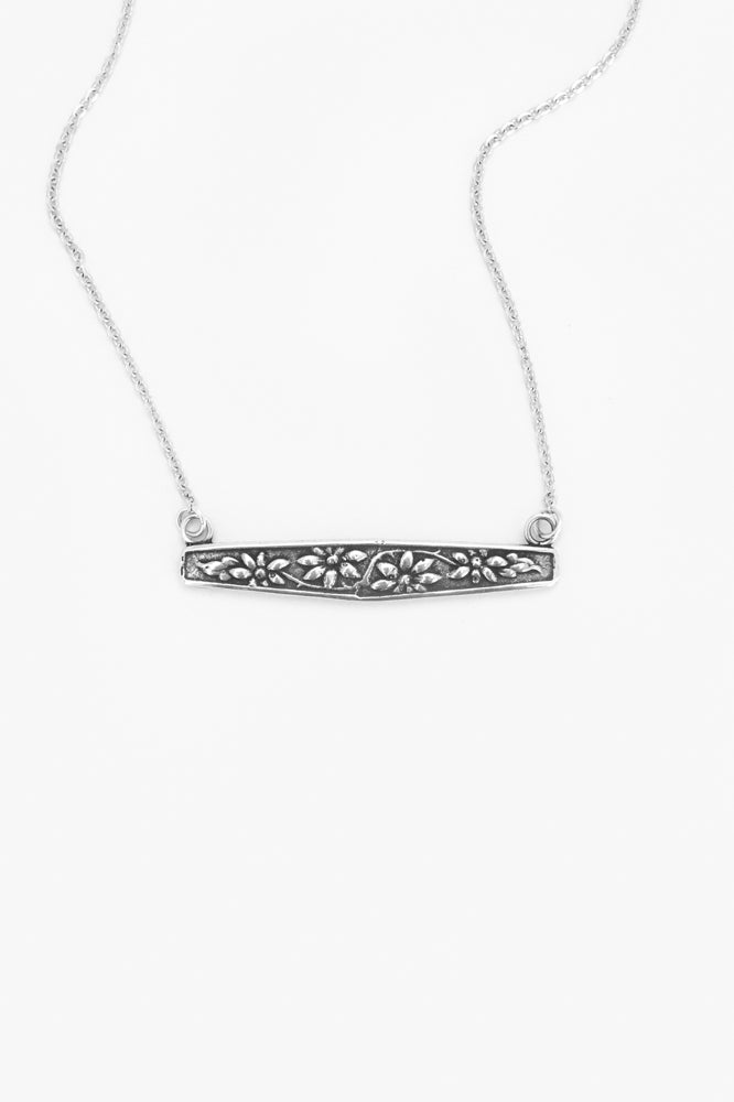 Faith Bar Necklace - Silver Spoon Jewelry