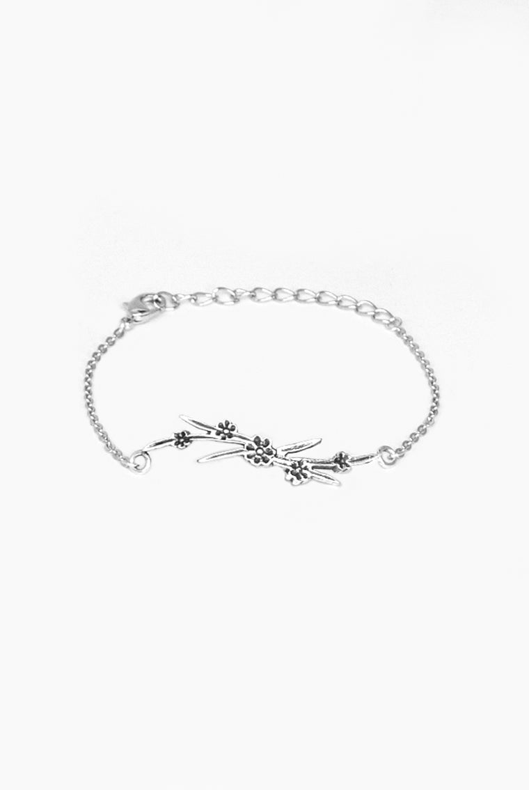 Maisie Bar Bracelet - Silver Spoon Jewelry