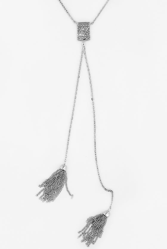Mya Tassel Necklace