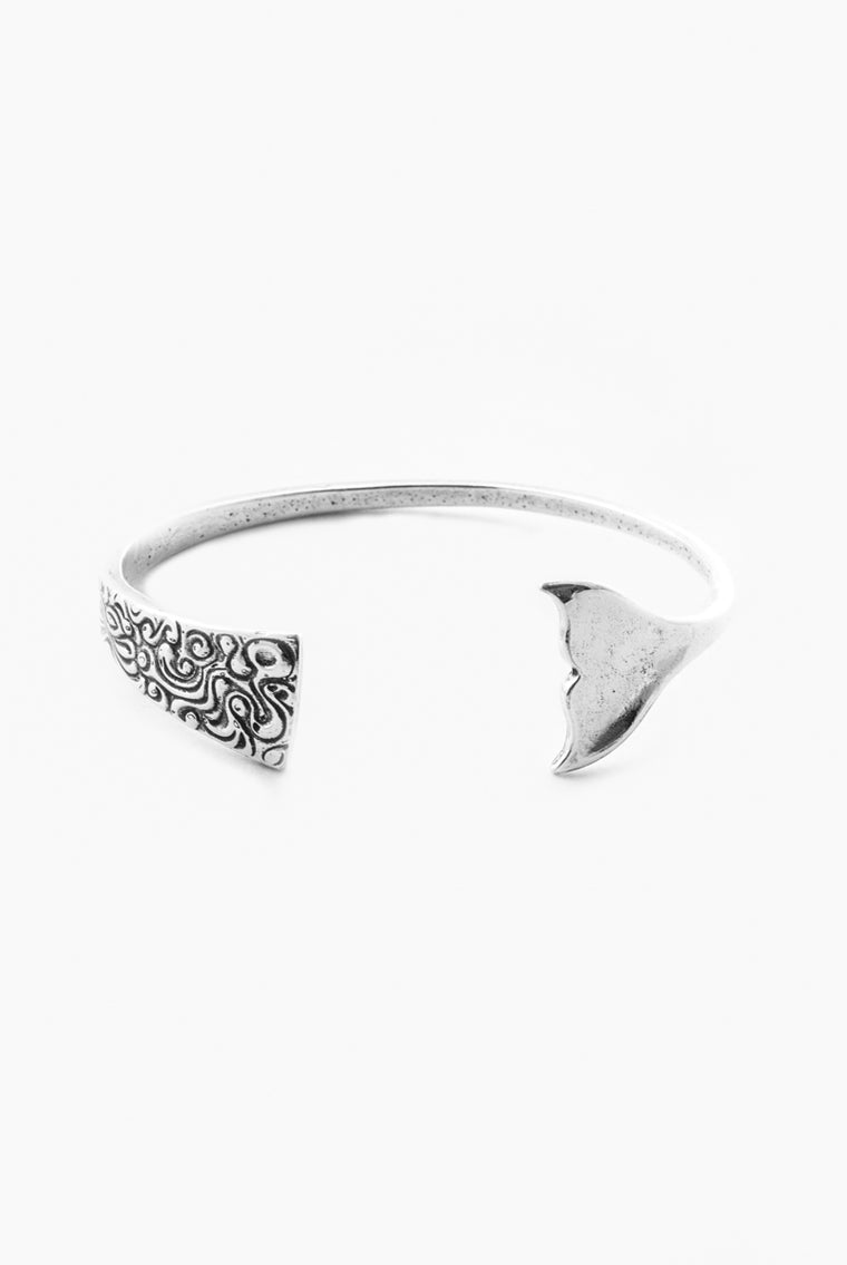 Ariel Mermaid Cuff Bracelet - Silver Spoon Jewelry