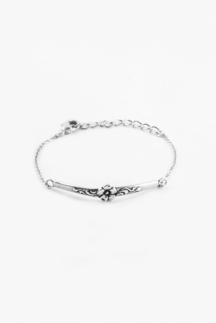 Diana Bar Bracelet - Silver Spoon Jewelry