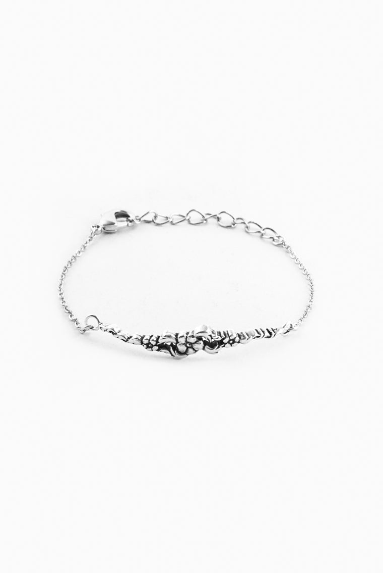 Chloe Bar Bracelet - Silver Spoon Jewelry