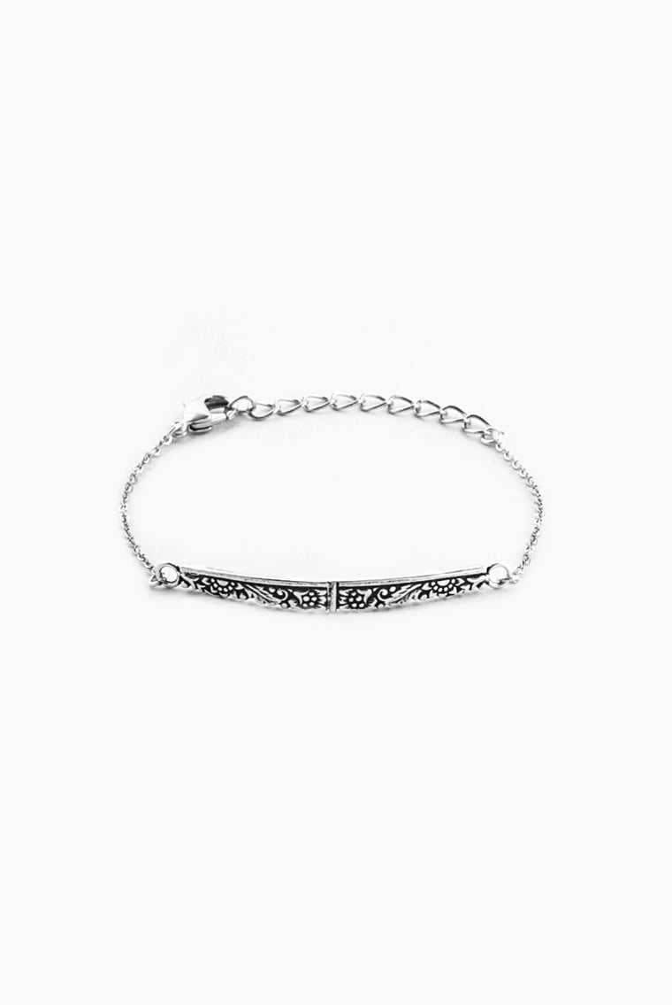 Jolie Bar Bracelet - Silver Spoon Jewelry