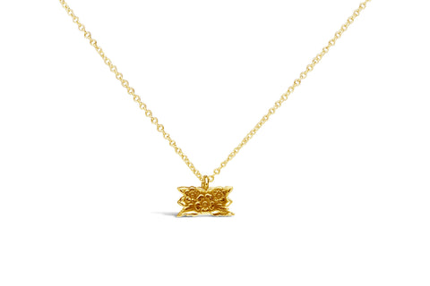 Vermeil Desiree Sterling Necklace