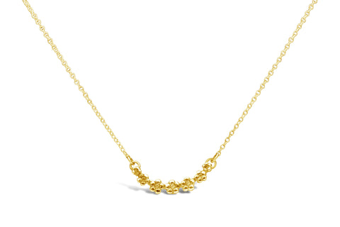 Vermeil Flora Sterling Necklace