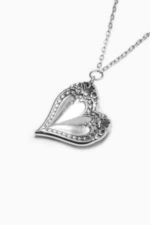 Monterey Sterling Silver Heart Necklace