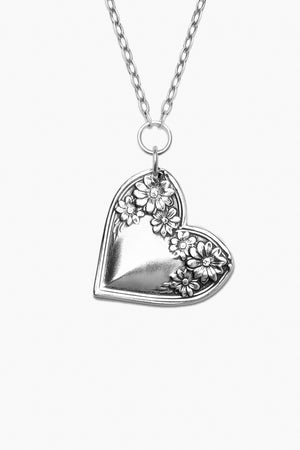 Sadie Sterling Silver Heart Necklace