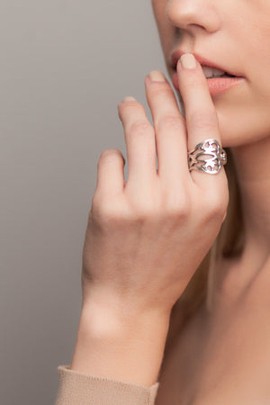 Claire Spoon Ring - Silver Spoon Jewelry