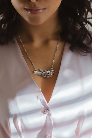 Bird Sterling Silver Necklace