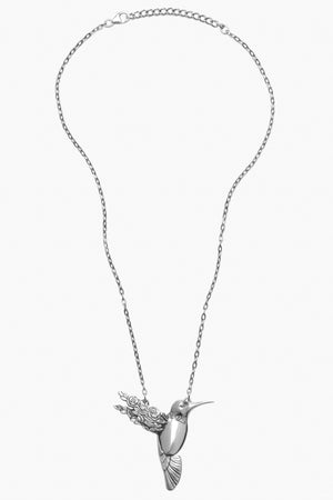 Hummingbird Sterling Silver Necklace
