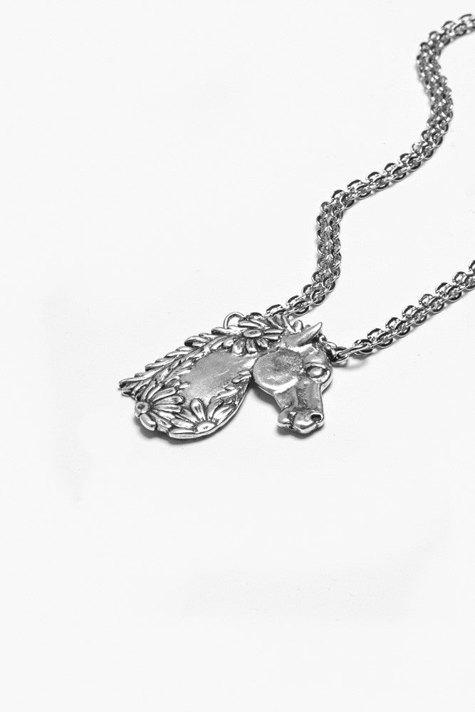 Horse Necklace - Silver Spoon Jewelry