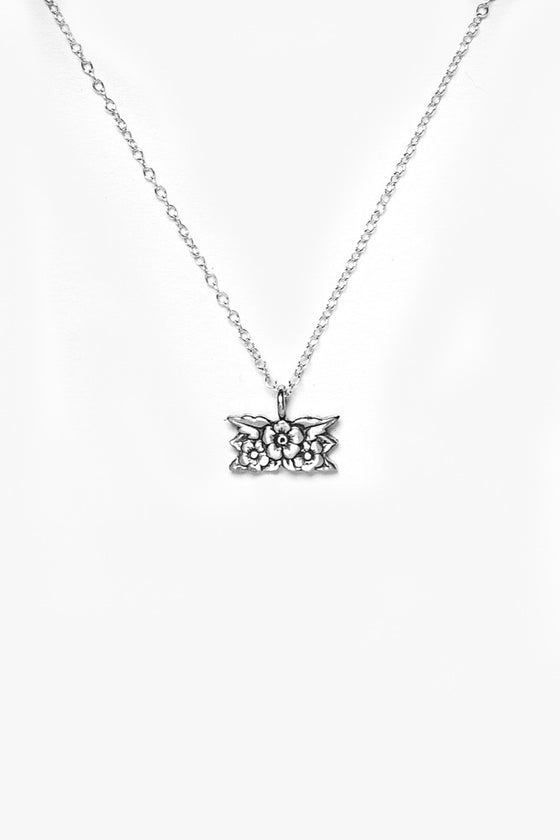 Desiree Sterling Necklace