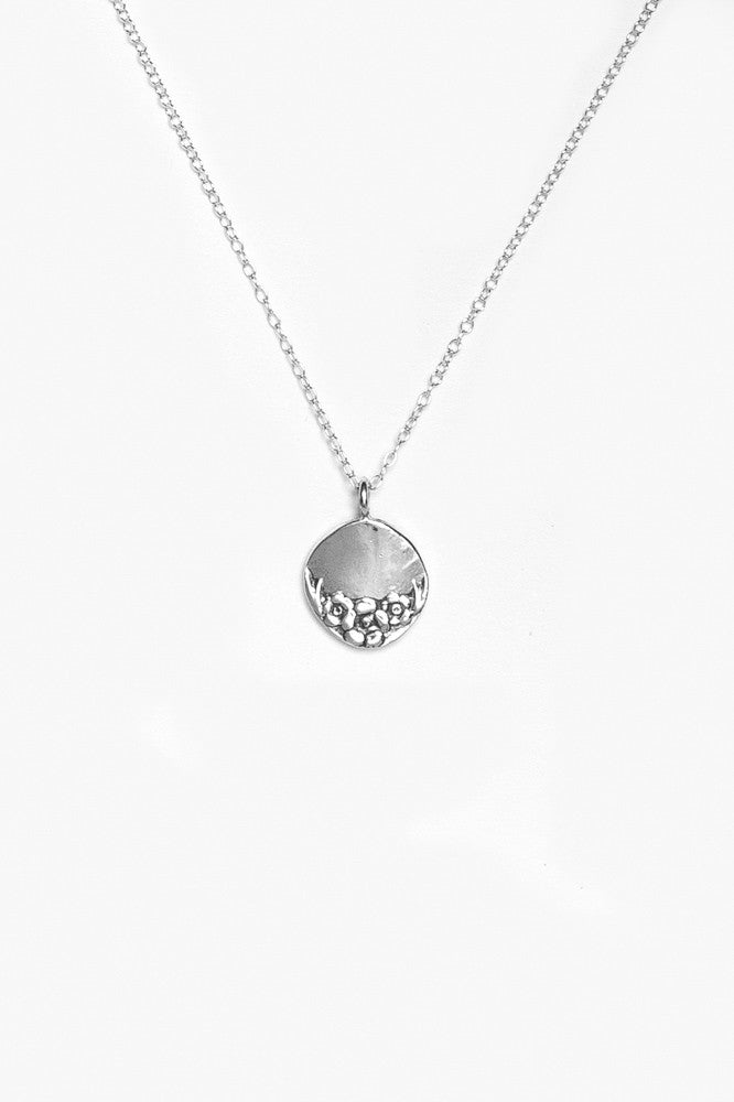 Circle Sterling Necklace - Silver Spoon Jewelry