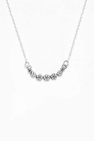 Flora Sterling Necklace