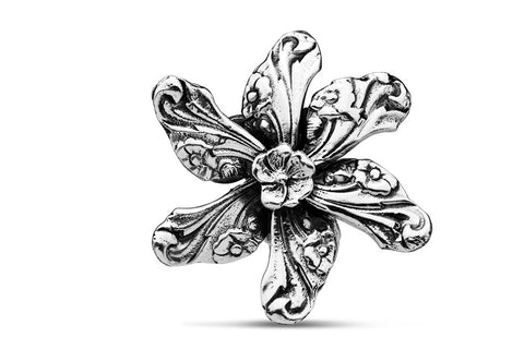 Georgia Flower Brooch Pin