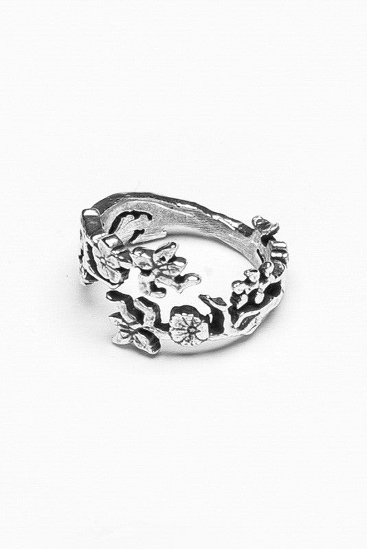 Cherry Blossom Ring - Silver Spoon Jewelry
