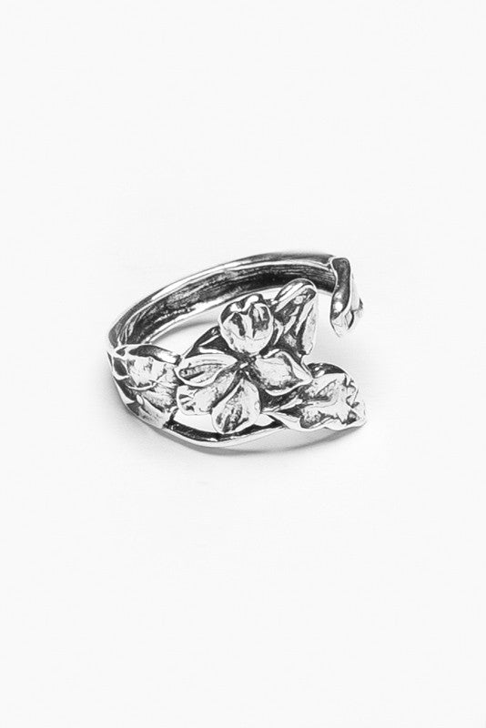 Elaine Spoon Ring - Silver Spoon Jewelry