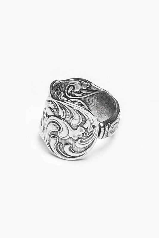Gloria Spoon Ring - Silver Spoon Jewelry