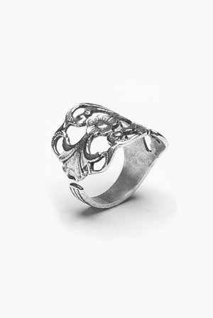Hazel Sterling Silver Spoon Ring - Silver Spoon Jewelry