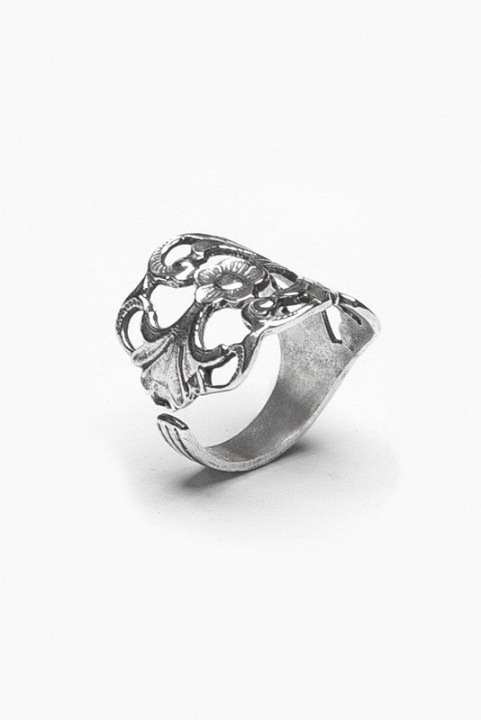 Hazel Spoon Ring - Silver Spoon Jewelry