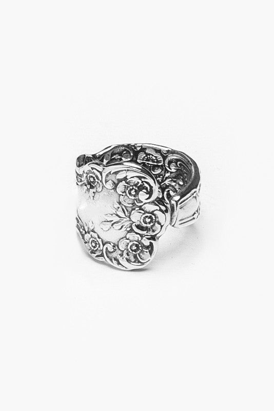 Lady Helen Sterling Silver Spoon Ring - Silver Spoon Jewelry