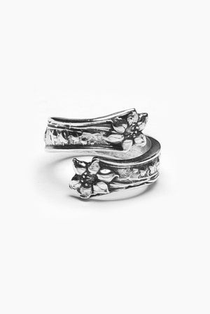 Lila Spoon Ring - Silver Spoon Jewelry