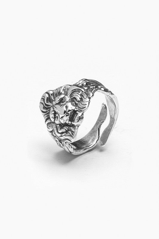 Lion Ring - Silver Spoon Jewelry