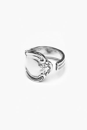Madeline Sterling  Spoon Ring - Silver Spoon Jewelry