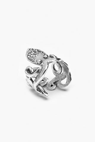 Octopus Spoon Ring