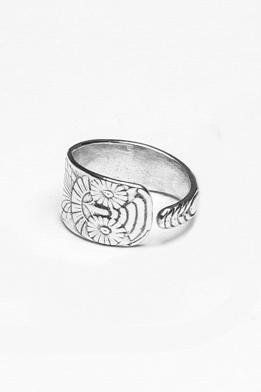 Owl Spoon Ring