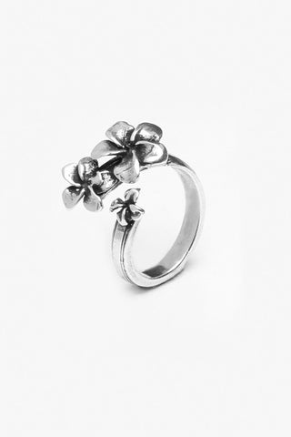 Plumeria Spoon Ring