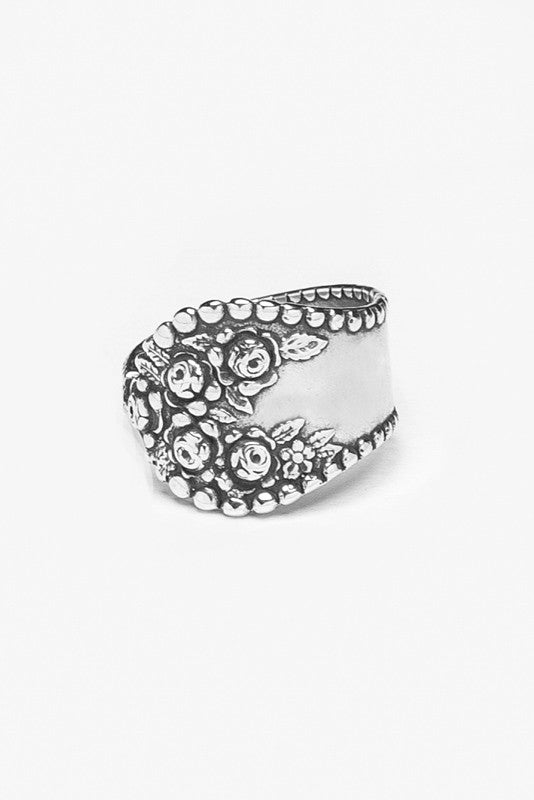 Rosemary Spoon Ring - Silver Spoon Jewelry