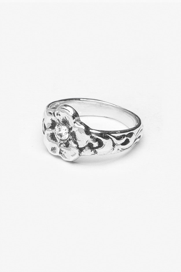Charlotte LG Gemstone Ring - Silver Spoon Jewelry