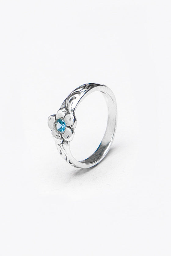 Charlotte SM Gemstone Ring - Silver Spoon Jewelry