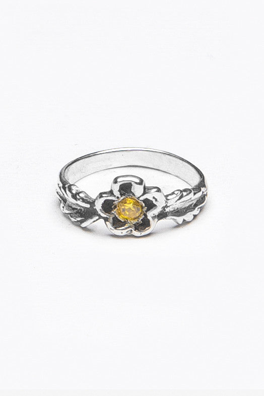 Delia Gemstone Ring - Silver Spoon Jewelry