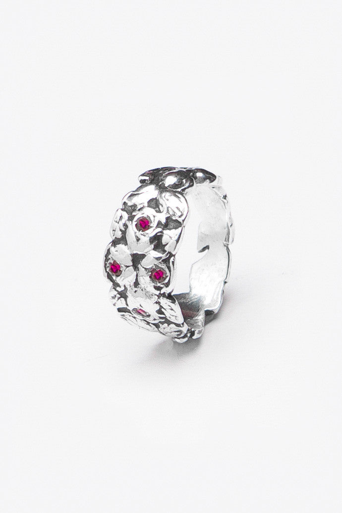 Rosemary Gem Ring - Silver Spoon Jewelry