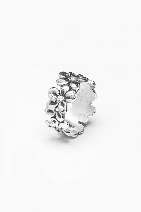 Abigail Gemstone Ring - Silver Spoon Jewelry