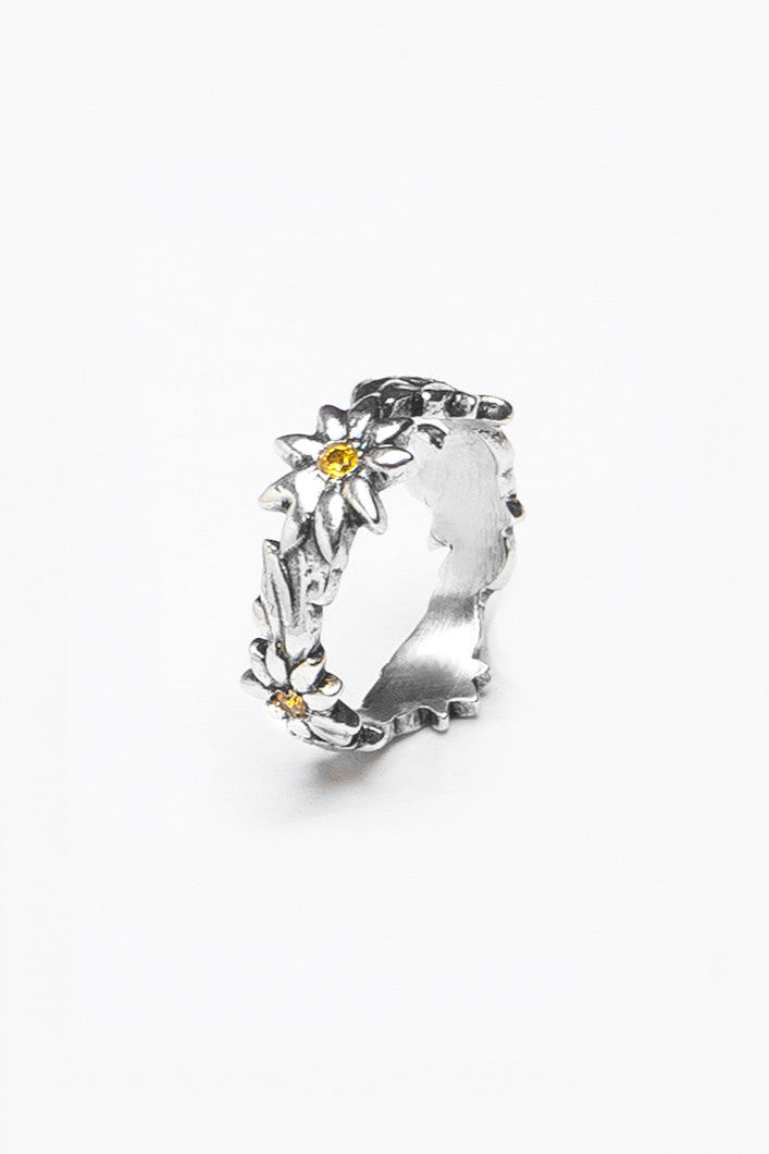 Faith Gemstone Ring - Silver Spoon Jewelry