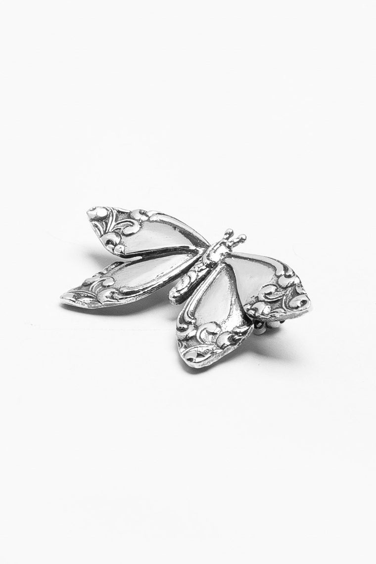 Butterfly Brooch Pin - Silver Spoon Jewelry
