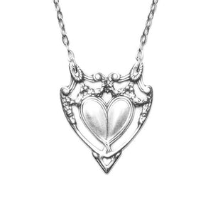 Marquis Heart Necklace