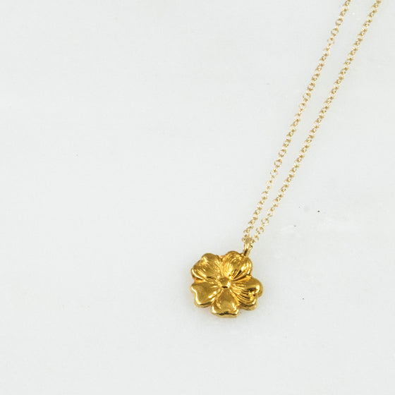 Vermeil Molly Sterling Necklace - Silver Spoon Jewelry