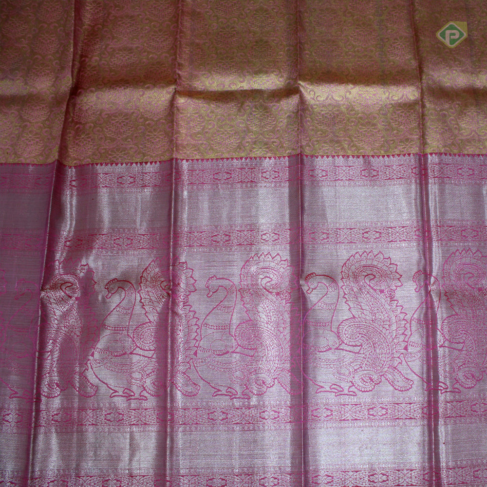 Peach with light Pink Colour Adult pavadas