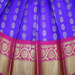 Blue with Reddish pink Colour Six to Eight years Pavadas