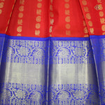 Red with Blue Colour Adult Pawadas