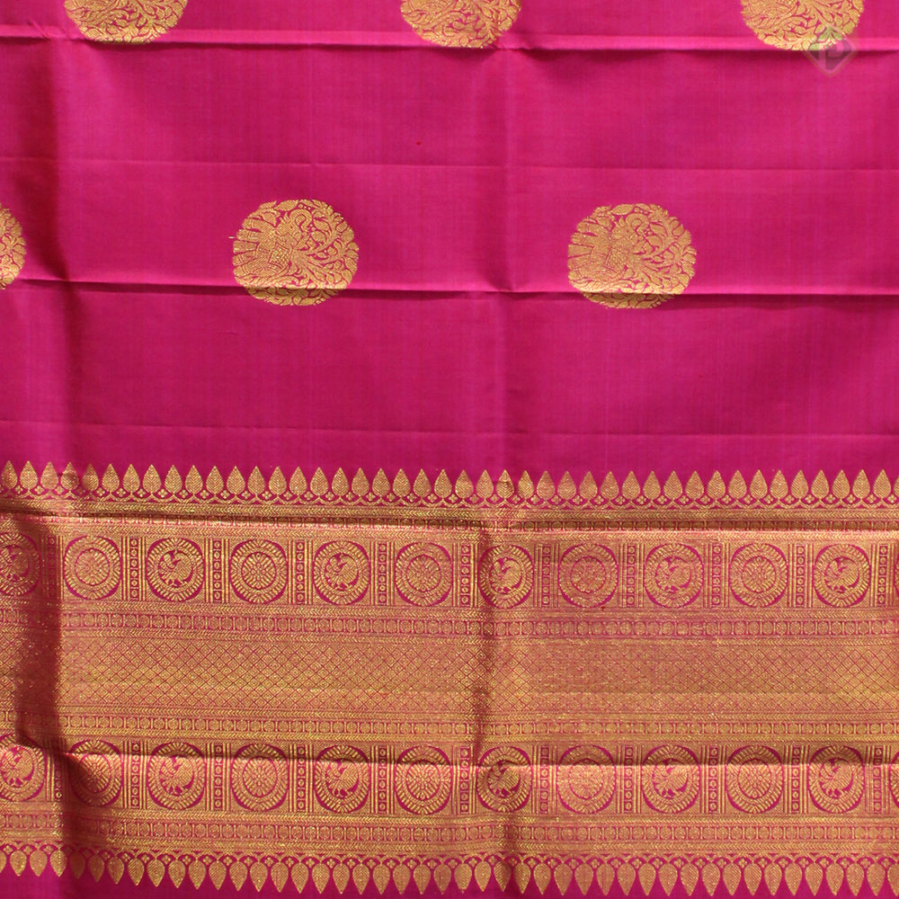 Dark Pink Colour Silk Dupattas