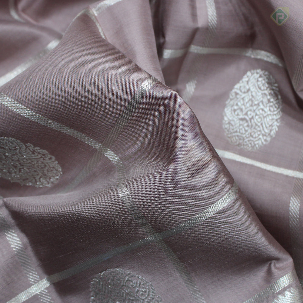 Stone Gray Colour Silk Dupattas