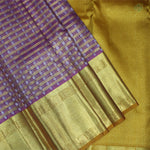 Onion Pink With Yellow Colour Organza (or) Kora Silk Saree
