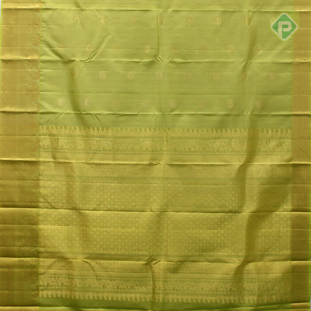 Lemon Yellow Colour Gift Silk Saree